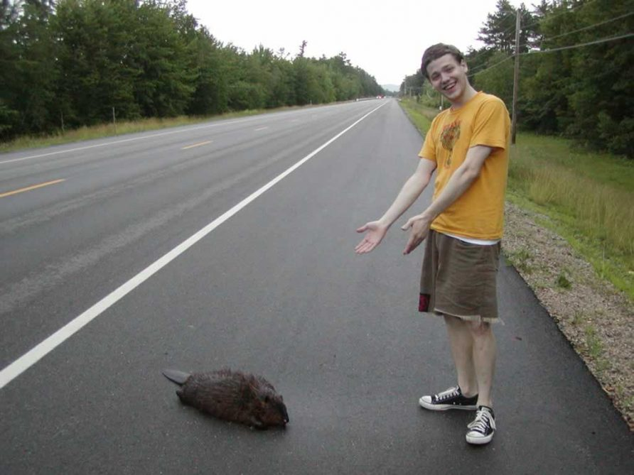 Kevin and the beaver